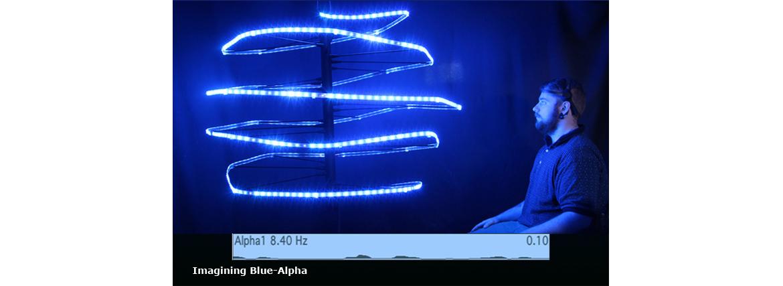 Imagining Blue-Alpha